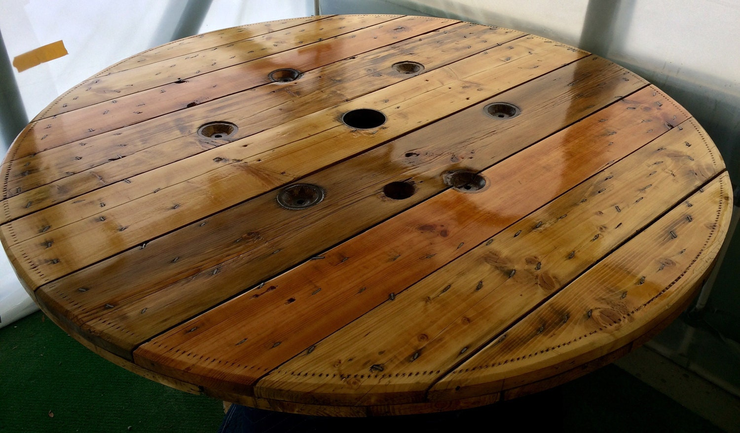 Wire Spool Table Top Only   Etsy