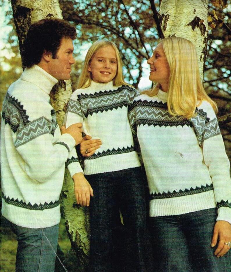 0eaddc368 Vintage Icelandic knitting patterns for men women children