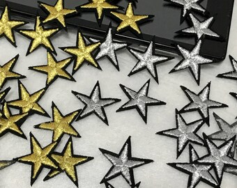 """1.5/"""" Camouflage Military Star Embroidery Patch"""
