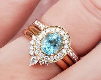 Fashion Jewelry Rose Saphir Coeur Cut White Gold Tone Pendentif Cadeau Pour Robe