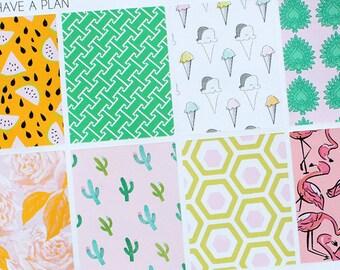 Planner Stickers Summer Heat Full Box for Erin Condren, Happy Planner, Filofax, Scrapbooking