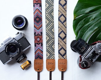Set of 2 Original Camera Strap Triangles