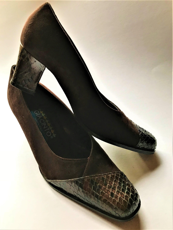 giacinto vintage en en en daim & leather femmes  ; s chaussures taille eu / au / us en italie 908db6