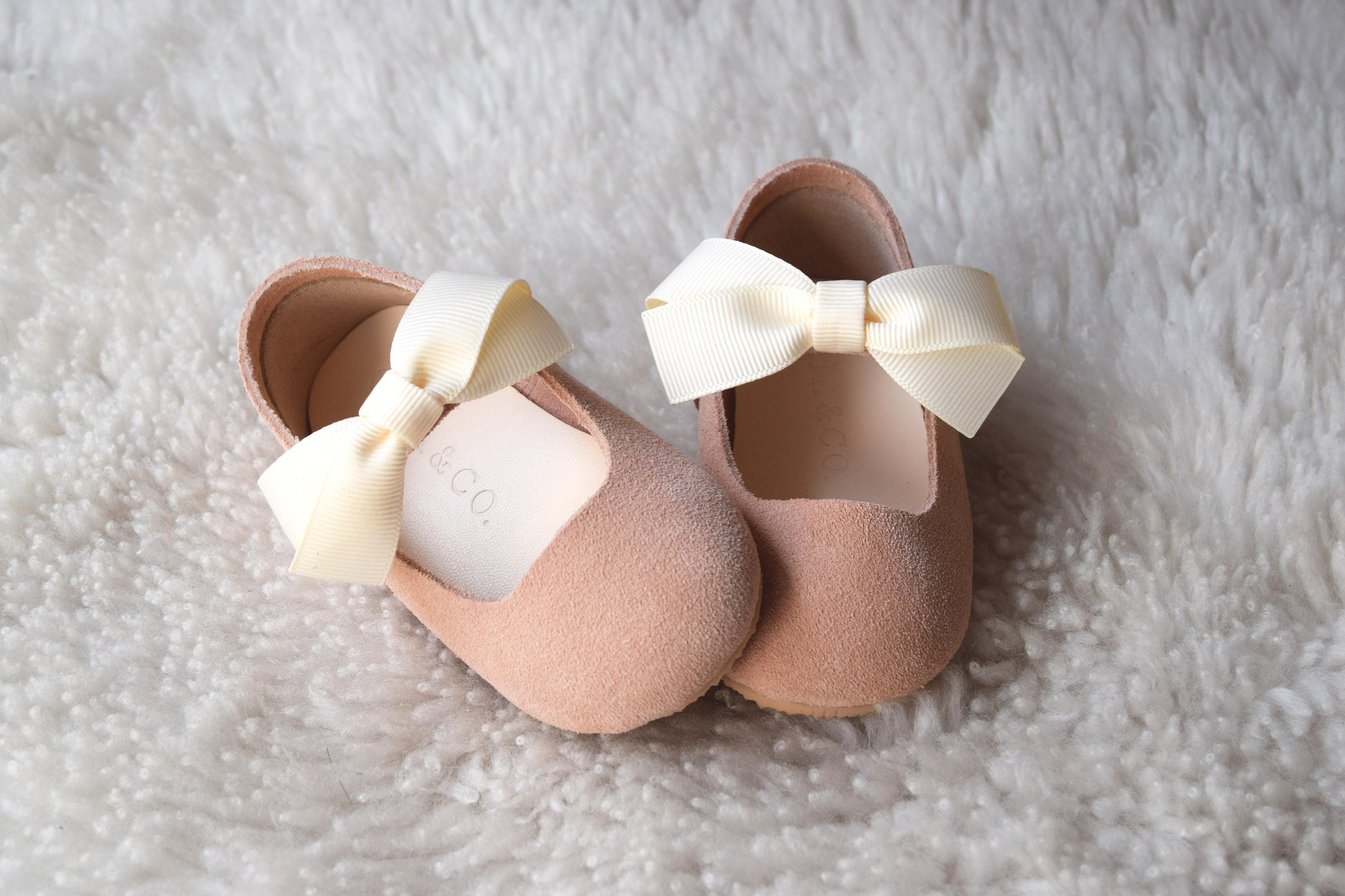 Flower Girl Shoes Pink Leather Toddler Girl Shoes First Etsy