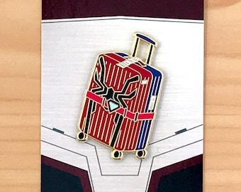 Spider Luggage Enamel Pin