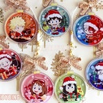 BNHA - Christmas Ornament Charms