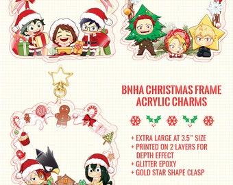 BNHA - Christmas Photoframe Charms