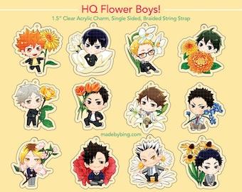 HQ Flower Boys Acrylic Charm