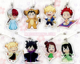 BNHA - Story Time Acrylic Charms
