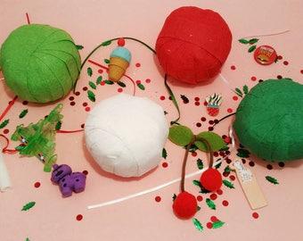stocking stuffer - surprise ball - treasure ball - christmas party favors - fun stocking stuffer - stocking stuffers for kids - prize ball