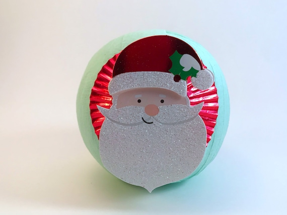 holiday party favors christmas favors vintage toy Christmas Surprise Ball christmas gifts stocking stuffers secret santa gifts