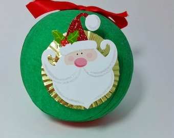 Christmas Surprise Ball - christmas gifts - stocking stuffers - christmas favors - holiday party favors - secret santa gifts - vintage toy
