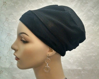 NEW** Breathable classic volumizer with perforated fabric and elastic in the back, volumizers, Boubou, for tichel, headwraps, chemo scarf...