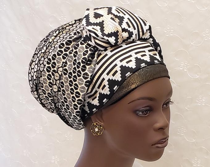 Featured listing image: Gold ethnic sinar tichel, Jewish hair covering, wedding tichel, gold hair scarf, head wrap, apron tichel, gift for women, holiday, brocade
