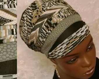 Fashionably chic sinar tichel, head wrap, Jewish hair covering, head scarf, hair snood, apron tichel, apron head scarf