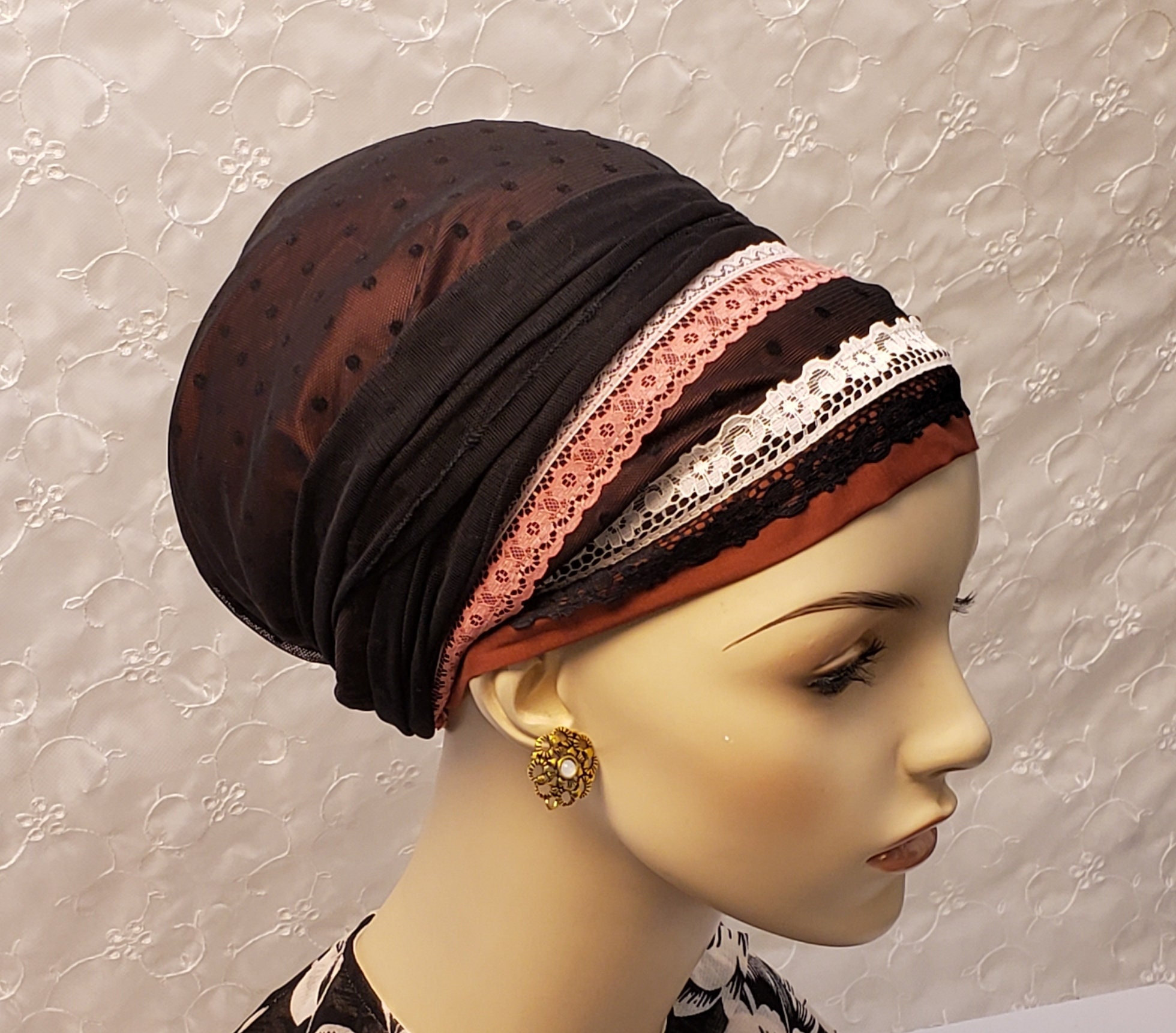 Hair Accessories Modest Knit Headwrap Black Baby Accessories