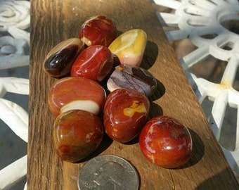 Mookaite Jasper Tumbled Stone~ Helps Decisions ~ Keep in Pillow~  Protective ~ Healing ~ Meditation ~ Altar