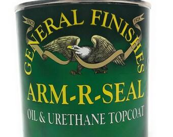 General Finishes Arm R Seal  Top Coat - Satin - 1 Quart