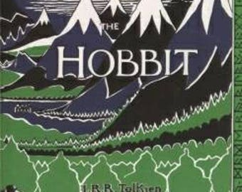 The Hobbit Book Cover Resin Keychain | J. R. R. Tolkien