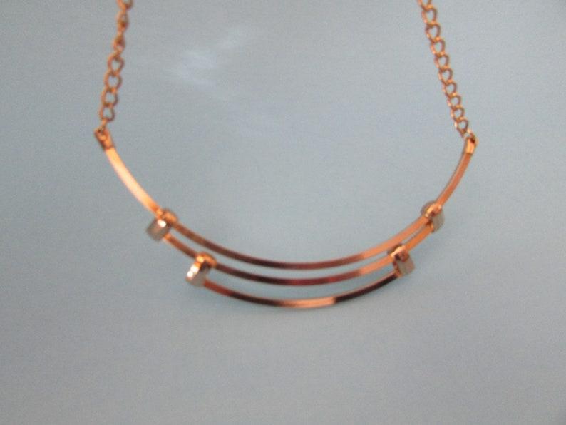 Retro Choker GoldPlated VTG Fashion Jewelry VINTAGE Gold Plated Choker