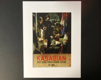 Empire Giclee Canvas Album Cover Picture Art Kasabian