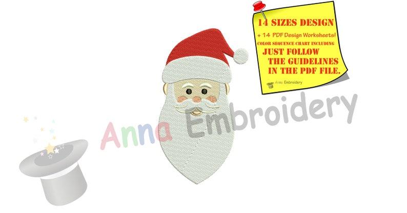 974e073b5adc9 Santa Embroidery Design-Christmas Embroidery Design-Winter
