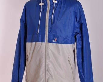 597da4055a16 Men s K Way Vintage Cagoule Jacket Size L   7 Genuine Retro