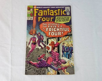 Vintage Marvel Comic Book (x1) - Fantastic Four (#36) - Gradable Condition