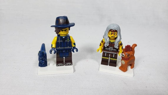Lego Movie 2 Minifigure Lot X2 Vest Friend Rex Sherry Etsy