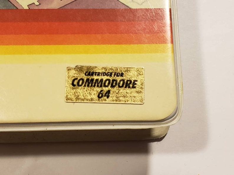 C64 Game Complete In Box RARE Spinnaker Vintage FRACTION FEVER Commodore 64