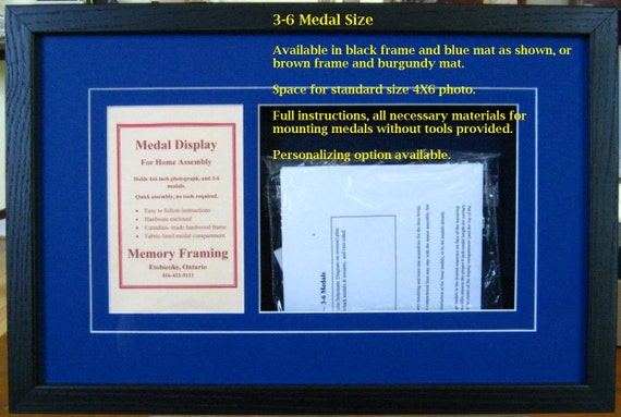 Canadiancommonwealth Diy Military Medal Framing Kits Etsy