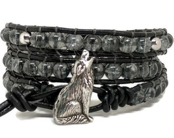 Animal Spirit Collection-Wolf Bracelet