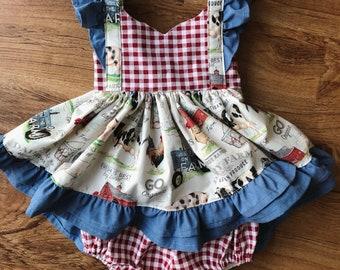 574756d5e20 Farmgirl Bellevue Dress
