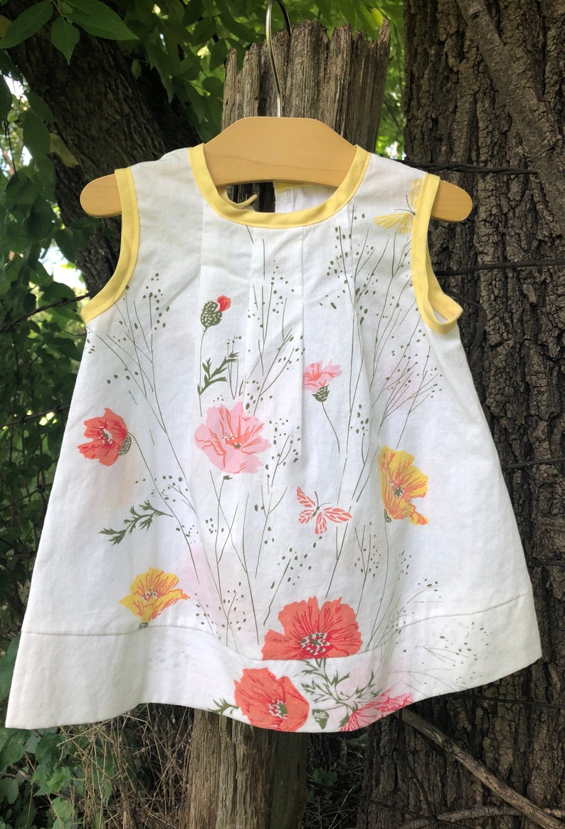 eb64bfbf0 Easter Dress 6 9 months baby dress Vintage cotton Baby