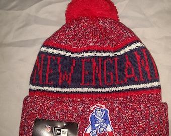 New England Patriots Super Bowl Bound Sideline Knit Pom Hat 09674cae2
