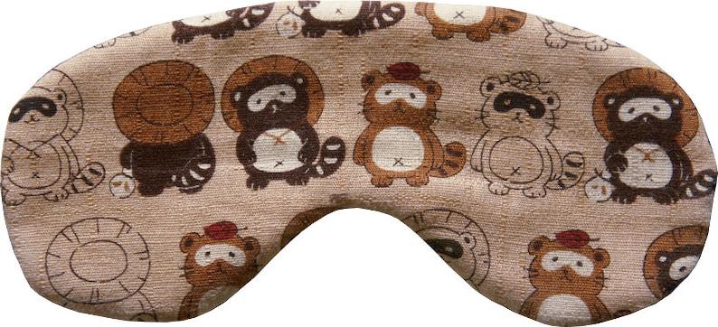 MAKONIA Sleepingmask different Motives  Cotton Silk Handmade image 0