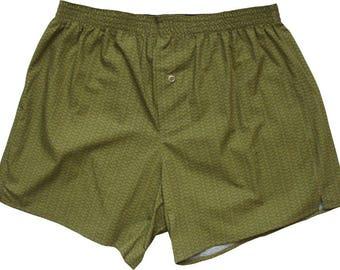 Boxershorts Seigaiha Pattern - 3 Differetnt Colours, Handmade, Cotton, Japanese Kimono, MAKONIA