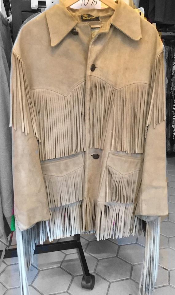 Original 1970's Suede Fringe Jacket