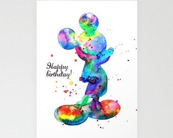 Disney Happy Birthday Card