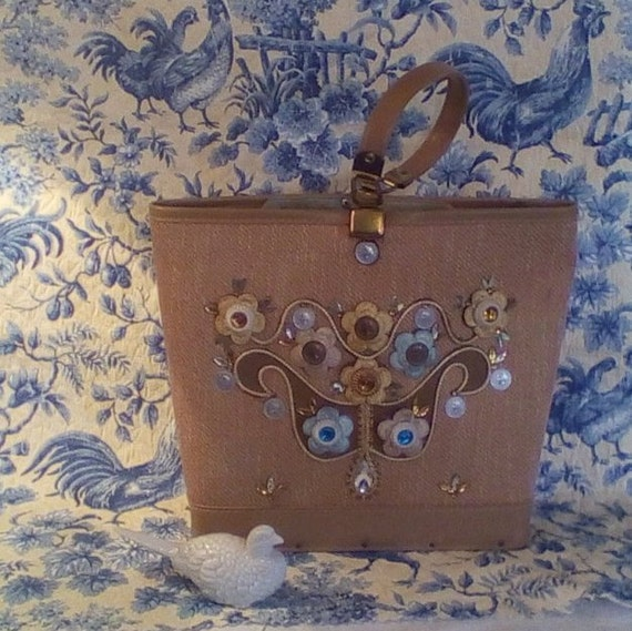Enid Collins Style Jeweled Purse