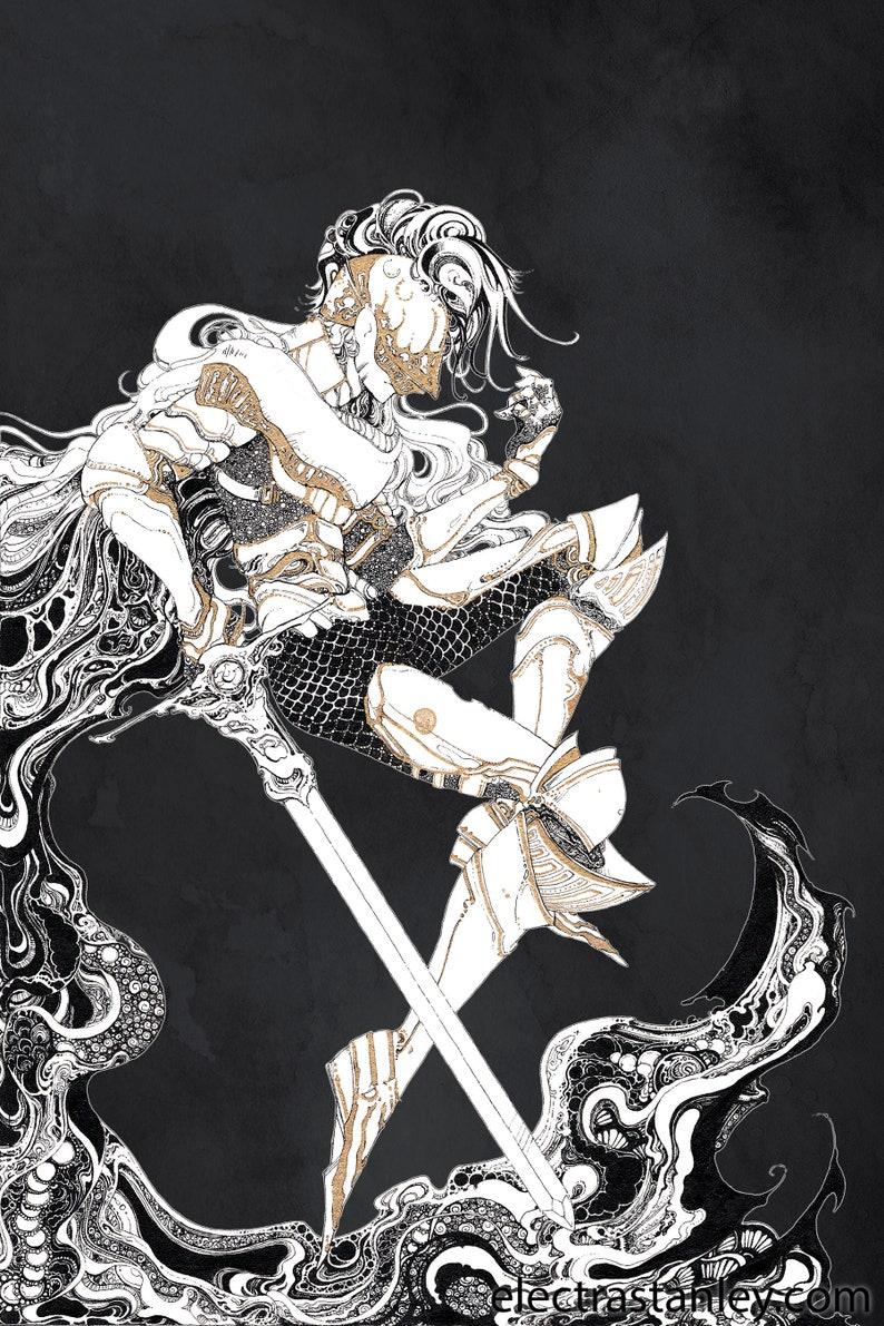 Art print 'Male Knight' image 0