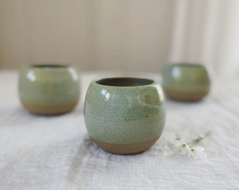 Stoneware Half-Pint, small cup, toddler cup, tea bowl, wheel thrown pottery