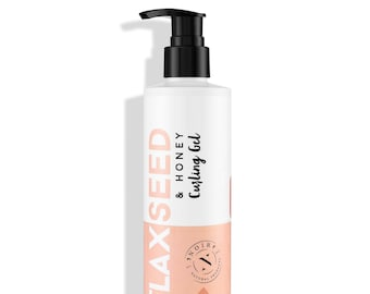 Flaxseed and Honey Curling Gel