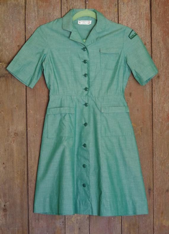 Vintage Girl Scout Uniform ~ Girl Scout Dress ~ 19