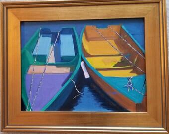 Boats, Row Boats,