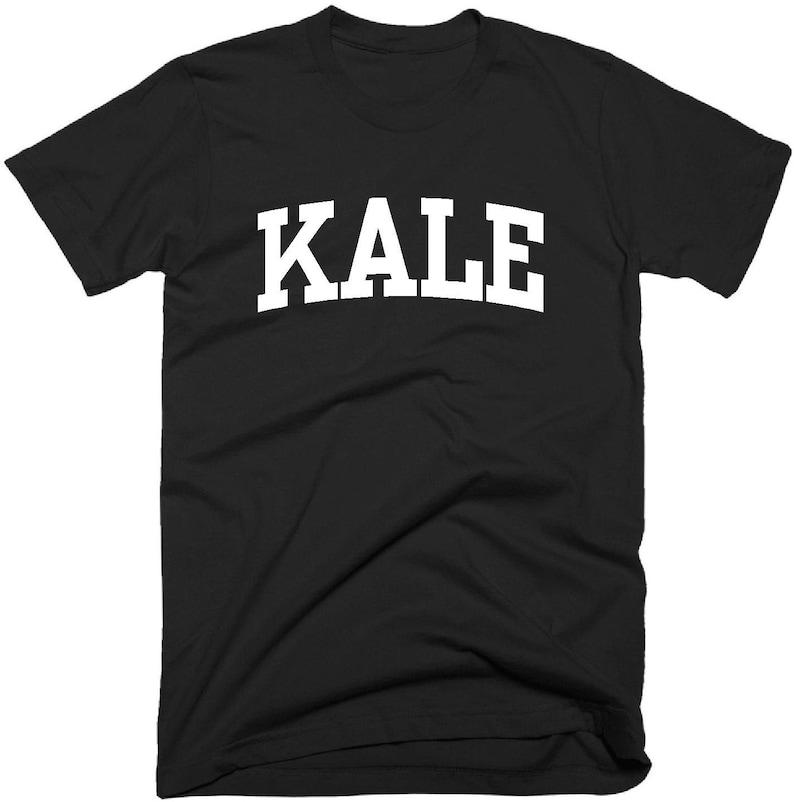30d13cd386 Vegan T Shirt Kale T-Shirt Women's Men's Girls Funny | Etsy