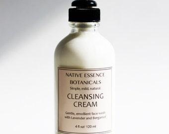 Face Wash - Facial Cleanser - Creamy Facial Cleanser - Cleansing Milk - All Natural Face Wash - Natural Skin Care - Organic Skincare