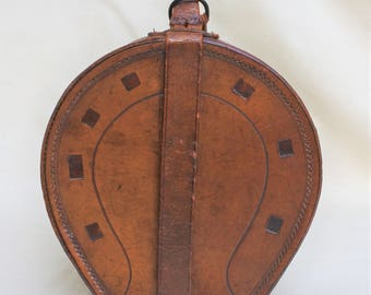 Leather Shirt Collar Travel Case from the 1920's