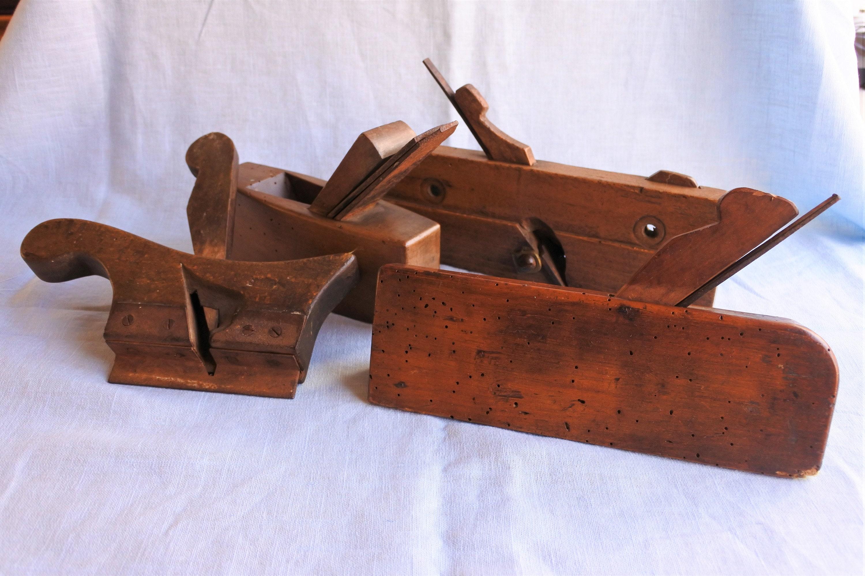 Vintage Woodworking Planes 4pcs