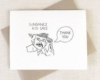 funny thank you cards etsy